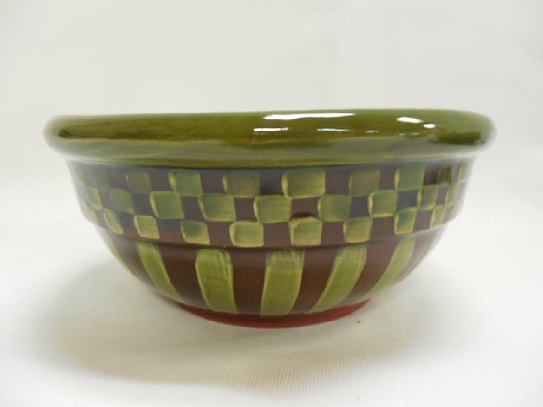 4 Mac Kenzie Childs Green Bowls - 2