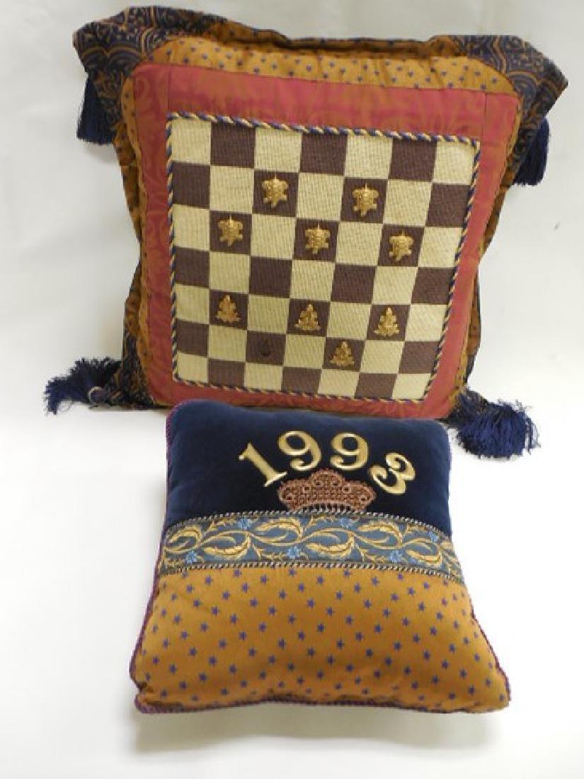 2 Mac Kenzie Childs Pillows