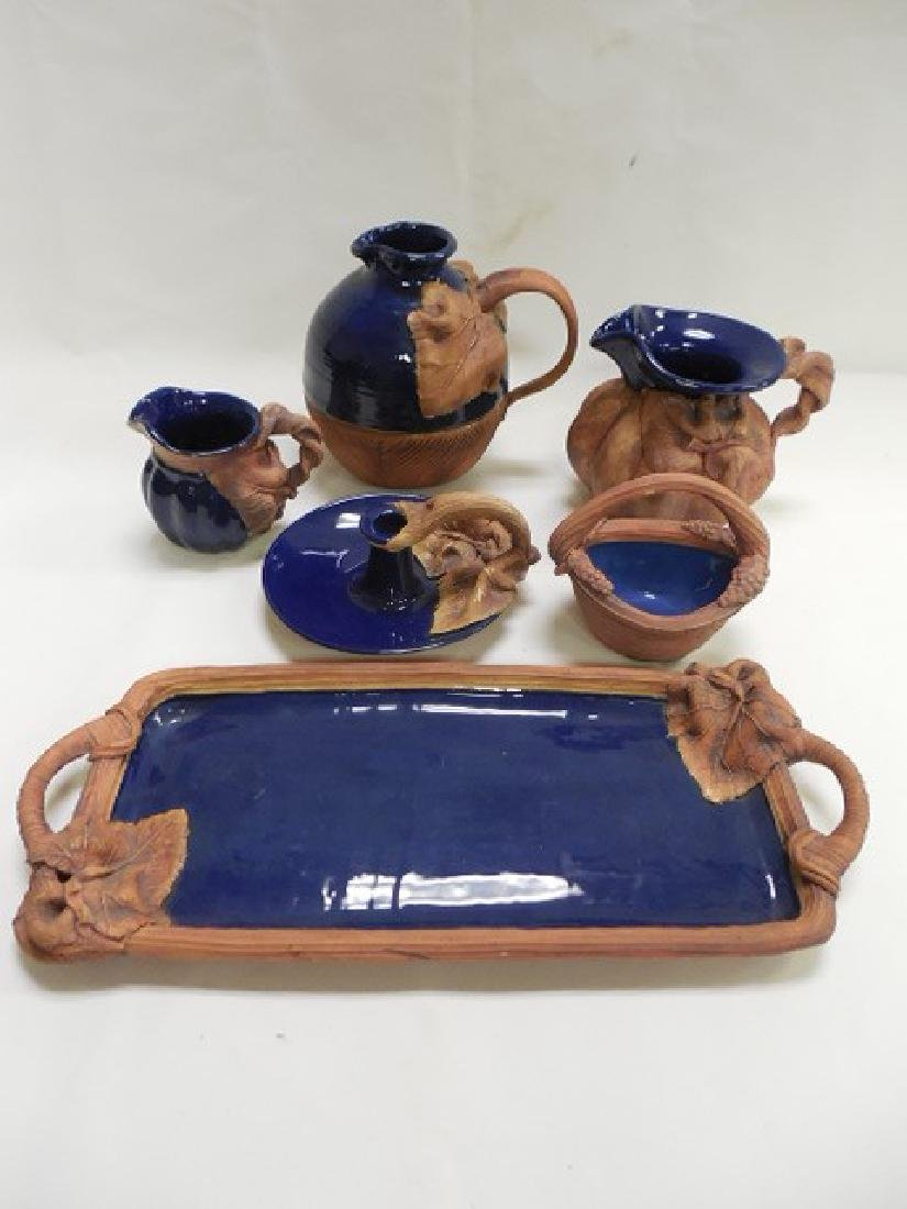 6pcs Terrafima Pottery