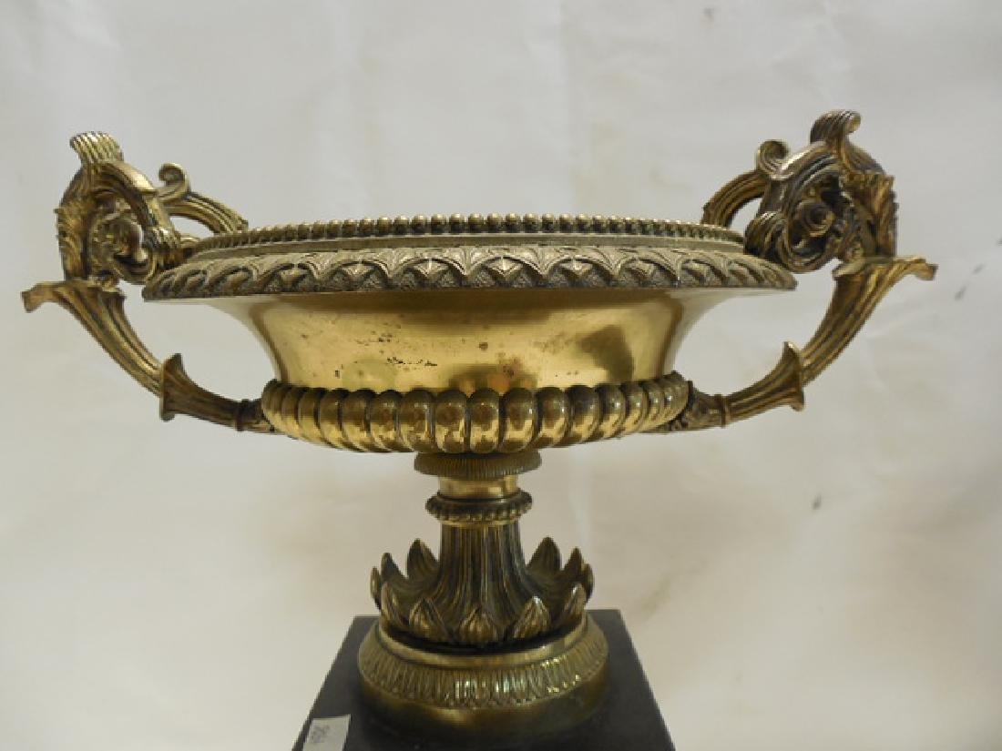Pr (2) Bronze Mounted Urns - 3