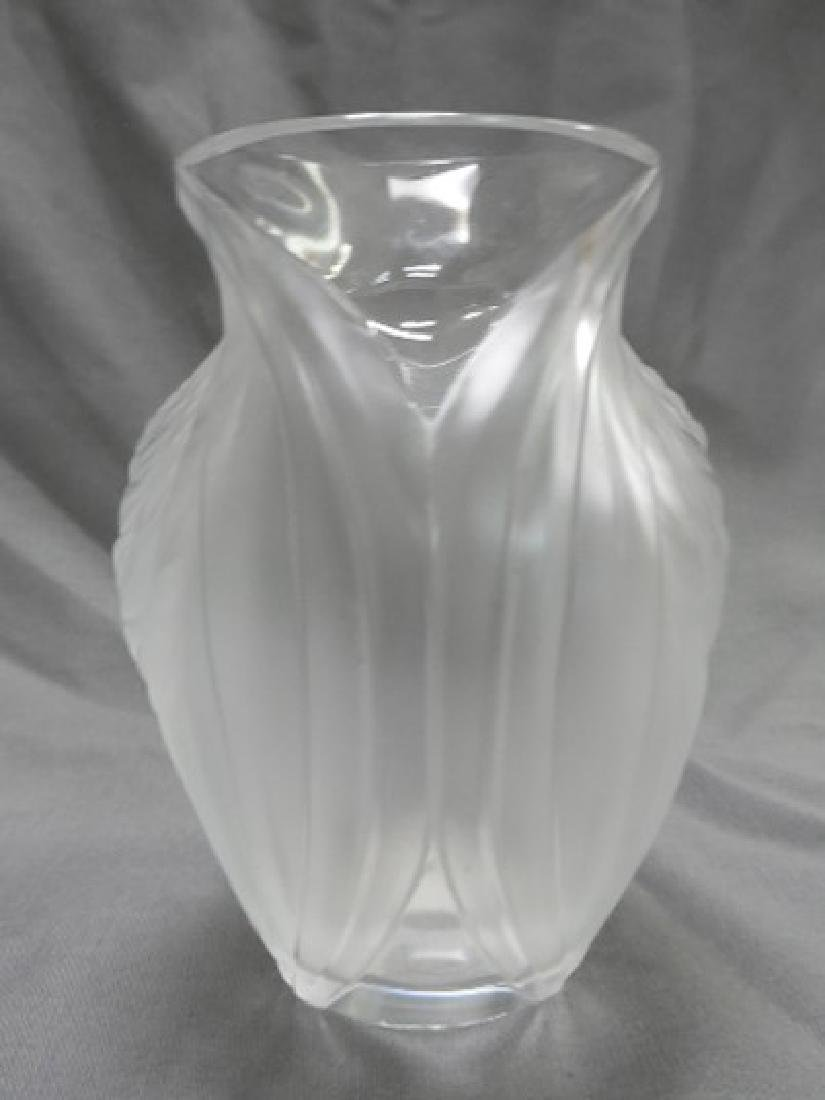 Lalique France Cabinet Vase