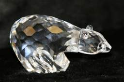 1: Swarovski Crystal Polar Bear