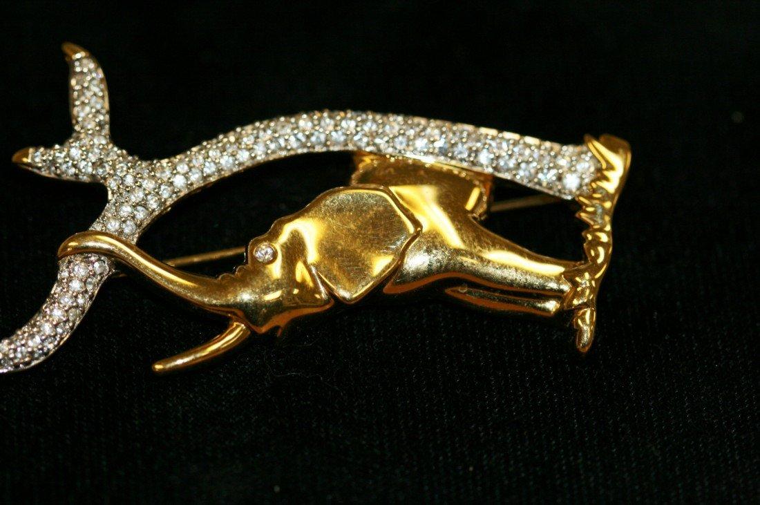 8: Swarovski Crystal Elephant