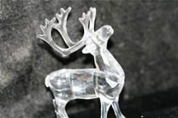 11 Swarovski Crystal Reindeer
