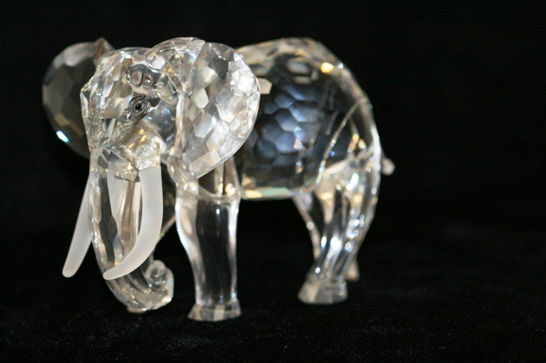 51: Swarovski Crystal Elephant