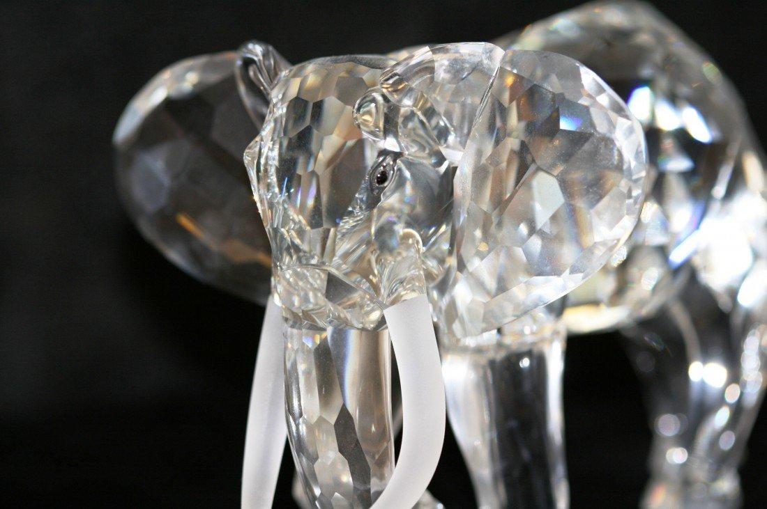 52: Swarovski Crystal Elephant