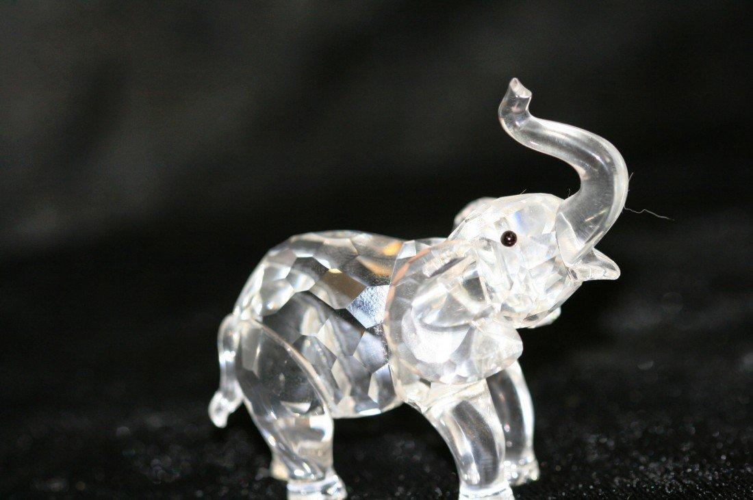 74: Swarovski Crystal Elephant