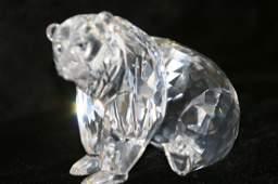 84: Swarovski Crystal Grizzly