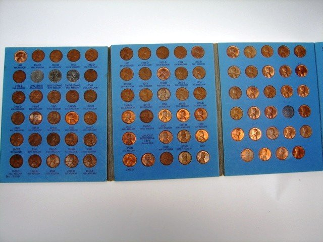 21: Lincoln Head Cent Book 2-Complete