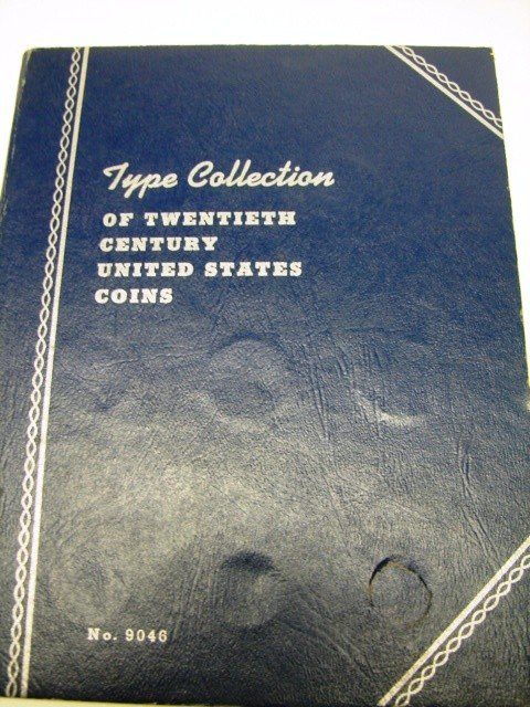 22: Type Collection of 20th Century US Coin Book