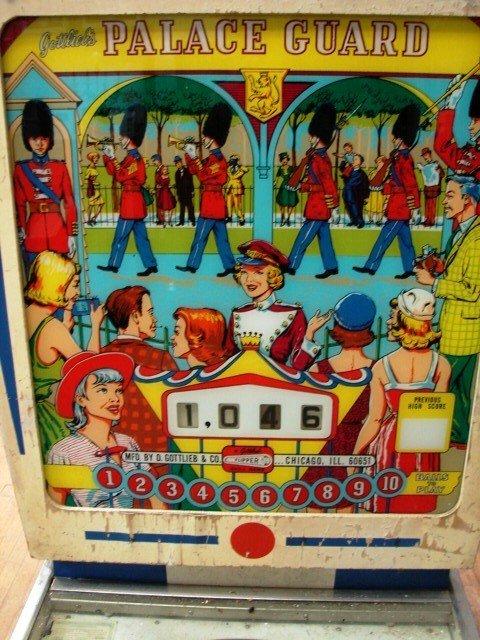 1A: Gottliebs Palace Guard Pinball Machine