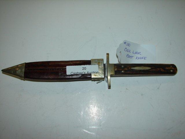 20: US Civil War Knife