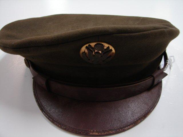 23: US Dress Cap - WWII