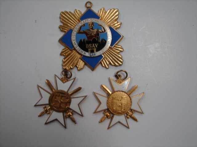 39: 1930's German medals