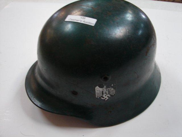 106: WWII German Helmet