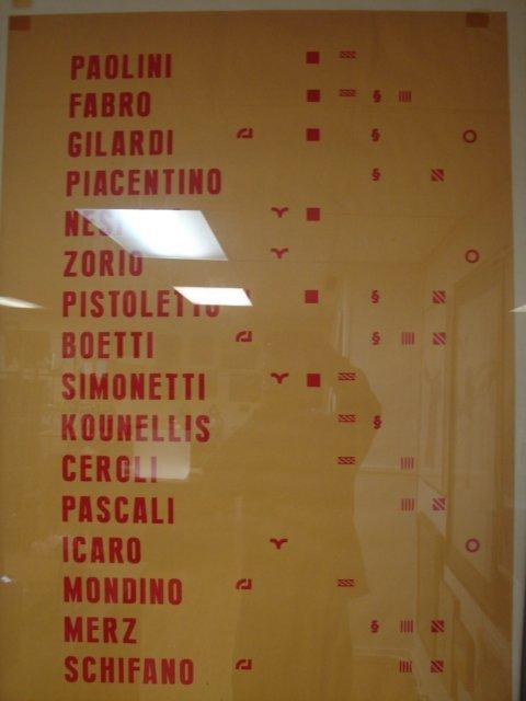 388: Alighiero Boetti Graphic