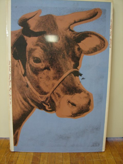 401: Andy Warhol Cow Serigraph
