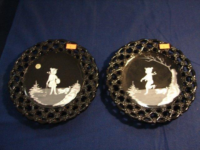 1: WM Pr. Mary Gregory Plates