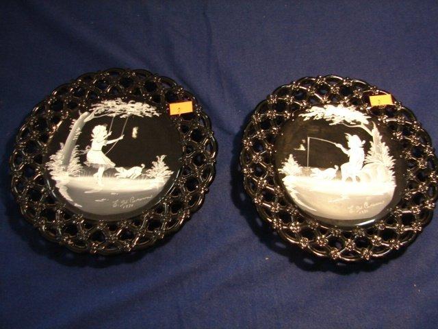 2: WM Pr. Mary Gregory Plates