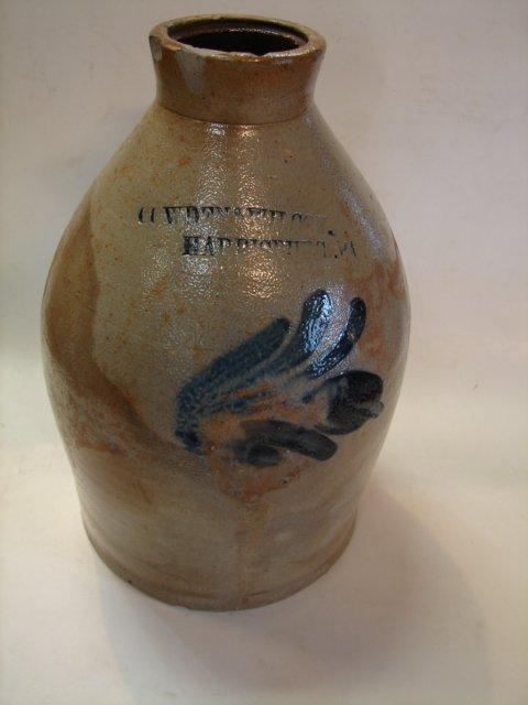 4: American Stoneware Cowden & Wilcox, Harrisburg Pa. J