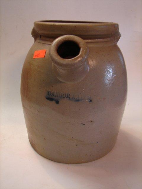 7: American Stoneware Bangor, Maine, Batter Jug
