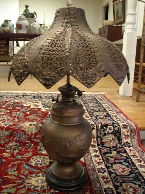 14: Bradley & Hubbard Lamp