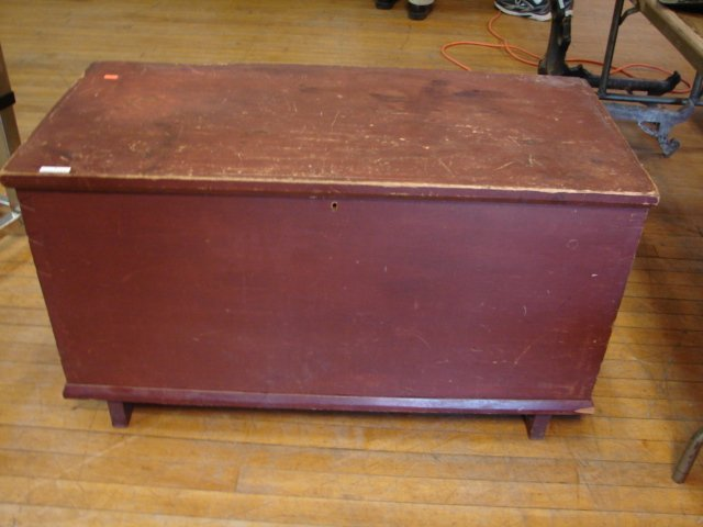 9: Antique Six Board Chest