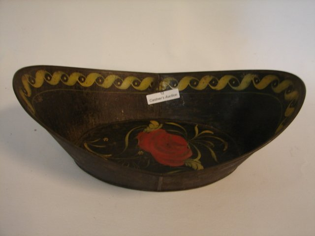 12: Antique Boat-Shaped Bread Tray