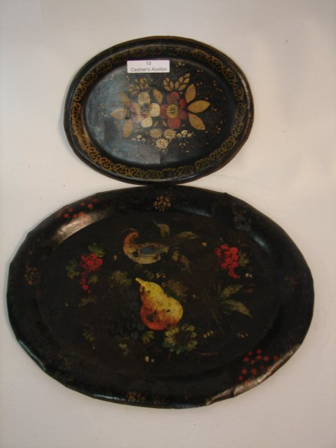 13: Toleware Trays