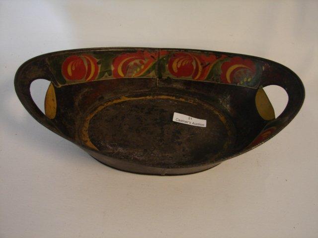 21: Bread Tray w/open hand holes