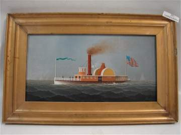 300: G. Nemethy, o/b Paddle Wheel Boat