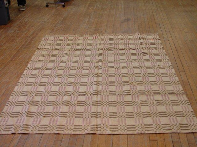 4: Overshot circles & squares pattern, 2 pc,