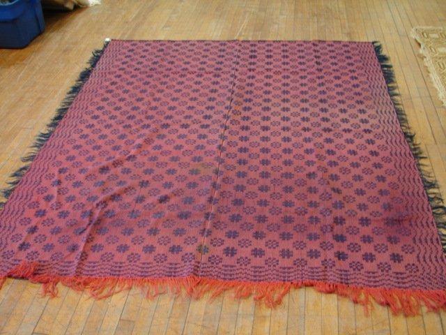 5: Overshot winter/summer weave,