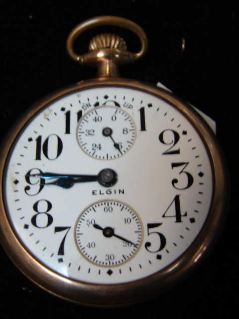 119: Elgin Man's Pocket Watch