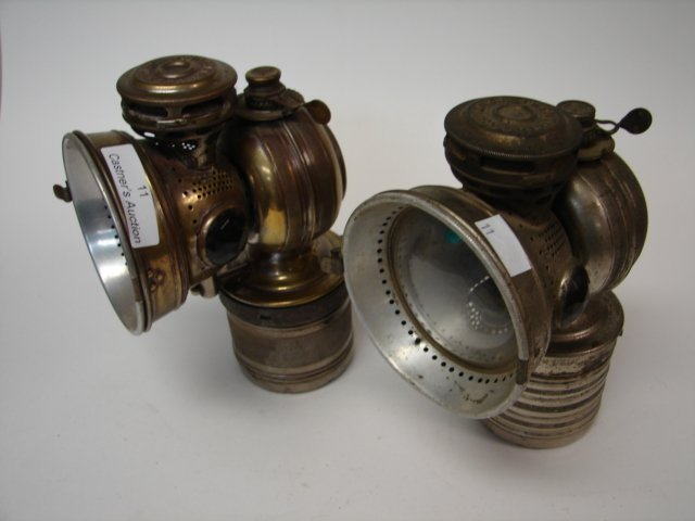 Lot (2) Bicycle Lamps