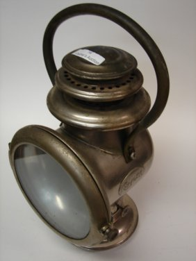 Nickel Plated lantern, Cole 30