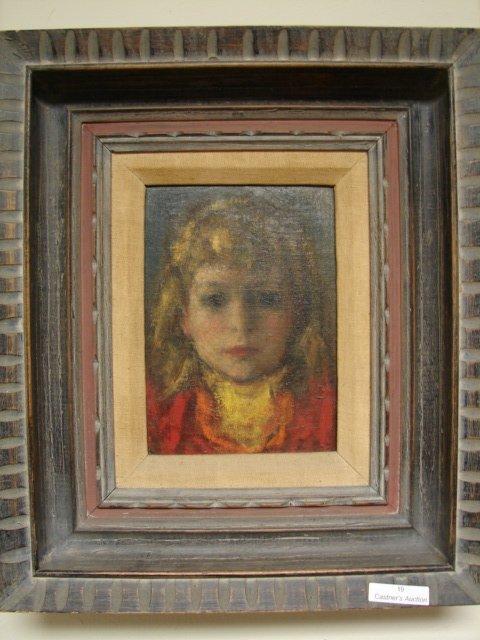 Oil on canvas - Robert Phillip