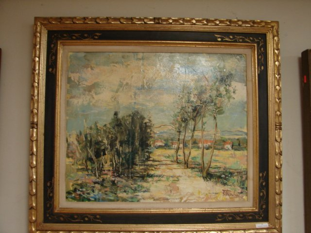 O/C French Landscape