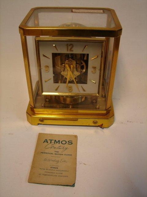 Atmos Le Coultre Clock