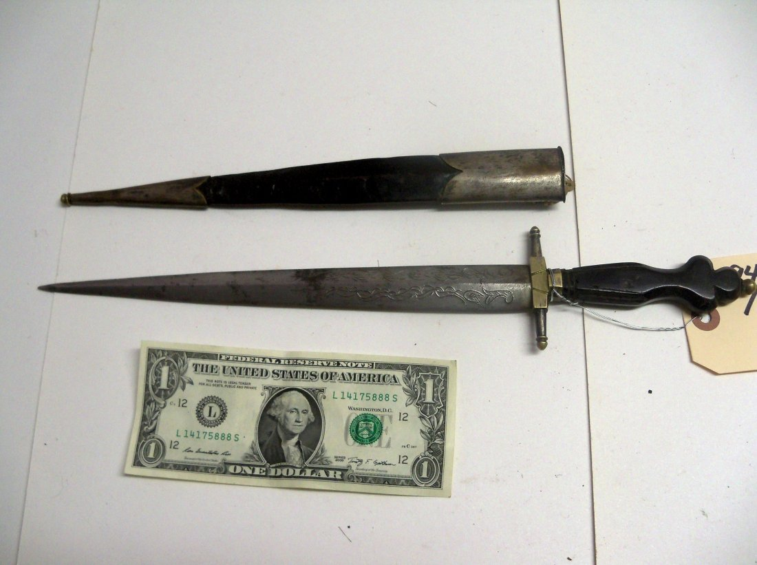 Fine and Rare early 20th C. Philippine General's Dagger