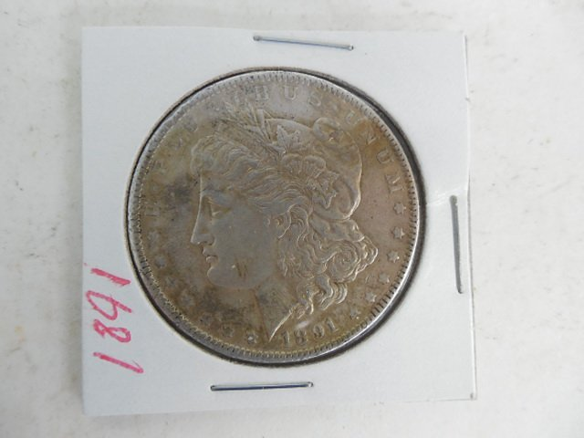 1891 Morgan Silver Dollar
