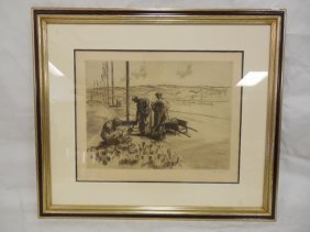 Jean Donnay Etching