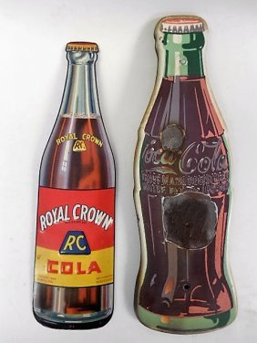 Lot 2 Soda Advertising Enamel Signs