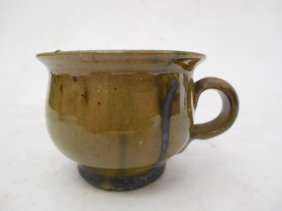 George Ohr Pottery Chamber Pot