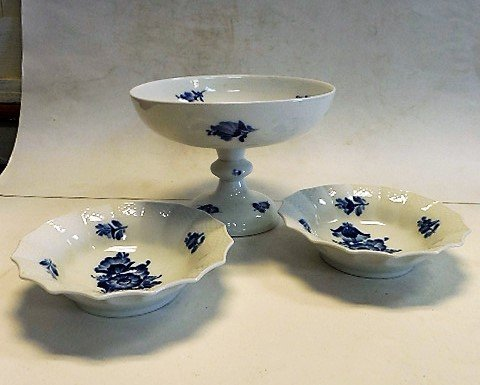 3pcs Royal Copenhagen Porcelain