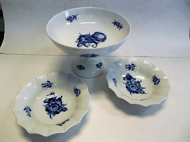 3pcs Royal Copenhagen Porcelain - 2