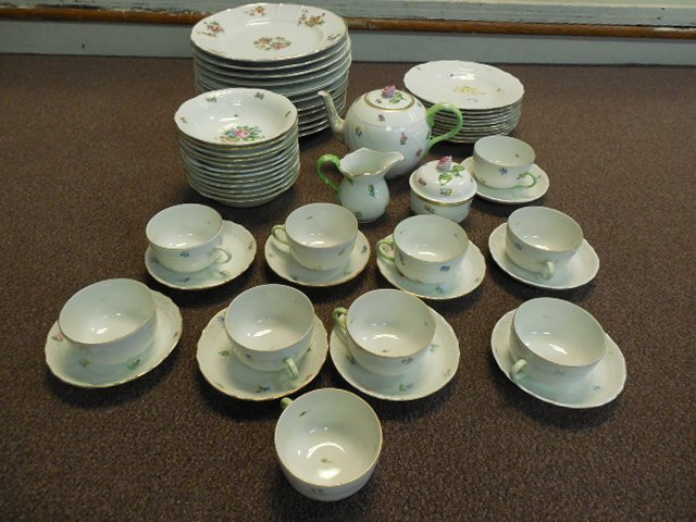 47pcs Mixed Lot Herend & Rosenthal Fine Porcelain