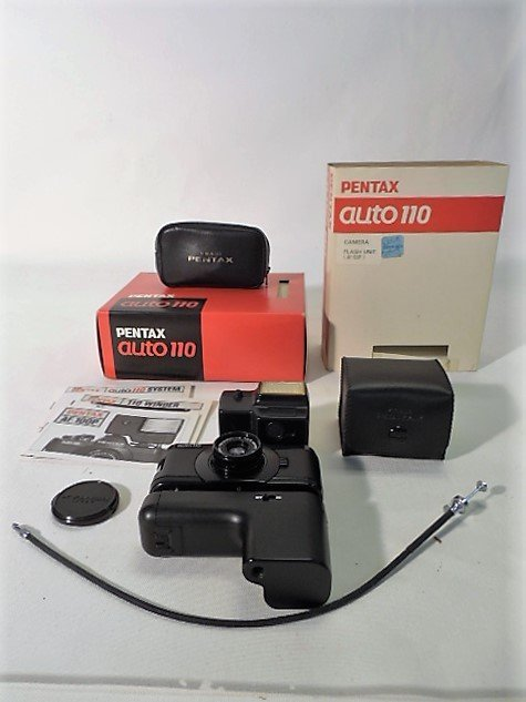 Pentax Auto 110 with Accessories