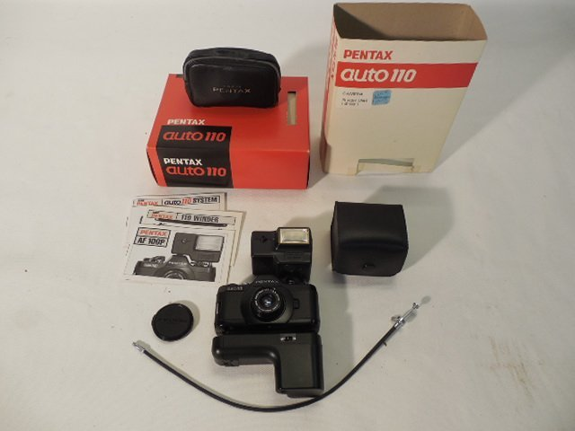 Pentax Auto 110 with Accessories - 2
