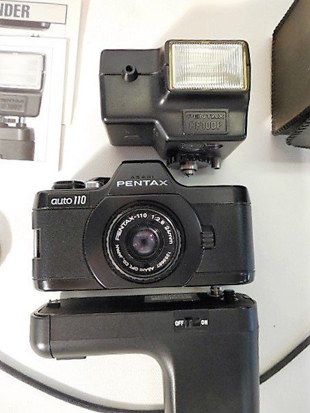 Pentax Auto 110 with Accessories - 3